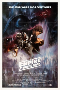 """The Empire Strikes Back (20th Century Fox, 1980). One Sheet 27"""" X 41"""") Style A"""