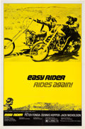 "Movie Posters:Drama, Easy Rider (Columbia, R-1972). One Sheet (27"" X 41"").. ..."