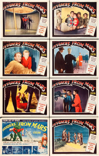 "Invaders from Mars (20th Century Fox, 1953). Lobby Card Set of 8 (11"" X 14""). ... (Total: 8 Items)"