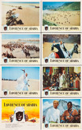 """Movie Posters:Academy Award Winners, Lawrence of Arabia (Columbia, 1962). Lobby Card Set of 8 (11"""" X 14"""").. ... (Total: 8 Items)"""