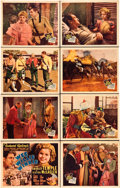 "Movie Posters:Adventure, Wee Willie Winkie (20th Century Fox, 1937). Lobby Card Set of 8(11"" X 14"").. ... (Total: 8 Items)"