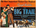 "Movie Posters:Western, The Big Trail (Fox, 1930). Title Lobby Card (11"" X 14"").. ..."