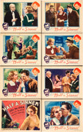 """Movie Posters:Drama, Half A Sinner (Universal, 1934). Lobby Card Set of 8 (11"""" X 14"""")..... (Total: 8 Items)"""