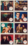 "Movie Posters:Hitchcock, The Paradine Case (Selznick, 1948). Lobby Card Set of 8 (11"" X14"").. ... (Total: 8 Items)"
