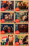 """Movie Posters:Western, Silent Men (Columbia, 1933). Lobby Card Set of 8 (11"""" X 14"""").. ... (Total: 8 Items)"""