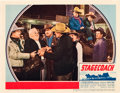 "Movie Posters:Western, Stagecoach (United Artists, 1939). Lobby Card (11"" X 14"").. ..."
