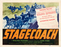"Movie Posters:Western, Stagecoach (United Artists, 1939). Title Lobby Card (11"" X 14"").. ..."