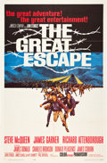 "Movie Posters:War, The Great Escape (United Artists, 1963). One Sheet (27"" X 41"").. ..."