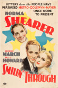 """Movie Posters:Romance, Smilin' Through (MGM, R-1935). One Sheet (27"""" X 41"""") Style C.. ..."""