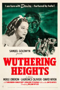 "Movie Posters:Romance, Wuthering Heights (United Artists, 1939). One Sheet (27"" X 41"")....."
