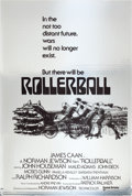 "Movie Posters:Science Fiction, Rollerball (United Artists, 1975). One Sheet (27"" X 40"") MylarAdvance.. ..."
