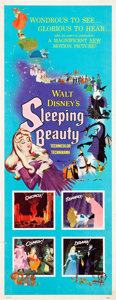 "Movie Posters:Animated, Sleeping Beauty (Buena Vista, 1959). Insert (14"" X 36"").. ..."