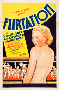 "Flirtation (J.D. Trop, 1934). One Sheet (27"" X 41""). From the Theaters of Old Detroit Collection"