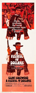 """Movie Posters:Western, A Fistful of Dollars (United Artists, 1967). Insert (14"""" X 36"""").. ..."""