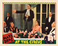 """Movie Posters:Comedy, At The Circus (MGM, 1939). Lobby Card (11"""" X 14"""").. ..."""