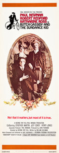 "Movie Posters:Western, Butch Cassidy and the Sundance Kid (20th Century Fox, 1969). Insert (14"" X 36"").. ..."