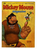Golden Age (1938-1955):Cartoon Character, Mickey Mouse Magazine V4#1 (K. K. Publications/ Western PublishingCo., 1938) Condition: FN....