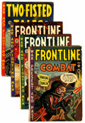 Golden Age (1938-1955):War, Frontline Combat #1, 2, and 3 Plus Group (EC, 1951-53) .... (Total:4 Comic Books)