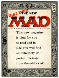 Mad #24 (EC, 1955) Condition: VG/FN