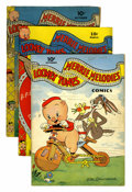 Golden Age (1938-1955):Cartoon Character, Looney Tunes and Merrie Melodies Comics #11, 24, and 29 Group(Dell, 1942-44).... (Total: 3 Comic Books)