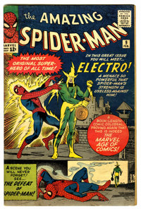 The Amazing Spider-Man #9 (Marvel, 1964) Condition: VG