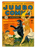 Golden Age (1938-1955):Adventure, Jumbo Comics #34 (Fiction House, 1941) Condition: FN/VF....