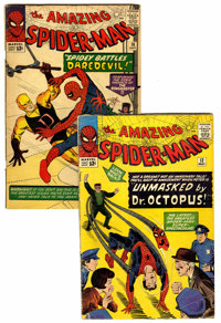 The Amazing Spider-Man #12 and 16 Group (Marvel, 1964) Condition: Average GD+.... (Total: 2 Comic Books)