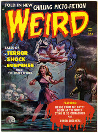 Weird V2#2 (Eerie Publications, 1967) Condition: NM-