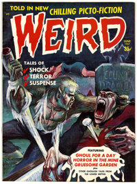 Weird V2#3 (Eerie Publications, 1967) Condition: NM-