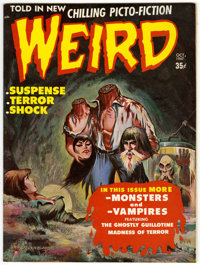 Weird V2#4 (Eerie Publications, 1967) Condition: NM-