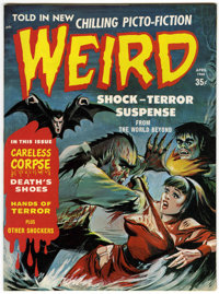 Weird V2#6 (Eerie Publications, 1968) Condition: NM-