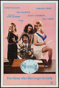 "8 to 4 (1980s). One Sheet (27"" X 41""). Adult"