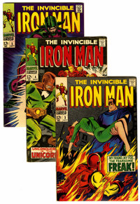 Iron Man #3-12 Group (Marvel, 1968-69) Condition: Average FN.... (Total: 10 Comic Books)