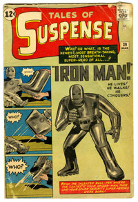 Tales of Suspense #39 (Marvel, 1963) Condition: GD+