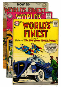 World's Finest Comics Group (DC, 1954-58) Condition: Average VG-.... (Total: 7 Comic Books)