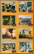 "Movie Posters:War, The Green Berets (Warner Brothers, 1968). Color Lobby Card Set of 8(11"" X 14""). War.. ... (Total: 8 Items)"