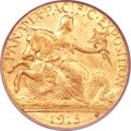 Commemorative Gold, 1915-S $2 1/2 Panama-Pacific Quarter Eagle MS62 PCGS. CAC....