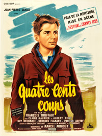 """The 400 Blows (Cocinor, 1959). French Grande (47"""" X 63"""")"""