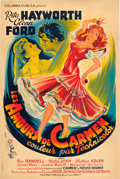 "Movie Posters:Drama, The Loves of Carmen (Columbia, 1948). French Affiche (31"" X 47"")....."