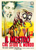 """Movie Posters:Science Fiction, The Monster that Challenged the World (Atlantis Films, 1958).Italian 2 - Foglio (39"""" X 55"""").. ..."""