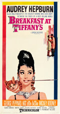 "Movie Posters:Romance, Breakfast At Tiffany's (Paramount, 1961). Three Sheet (41"" X 81"")....."