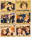 "Movie Posters:Drama, Now and Forever (Paramount, 1934). Lobby Cards (6) (11"" X 14"")..... (Total: 6 Items)"