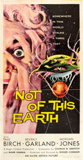 "Movie Posters:Science Fiction, Not of this Earth (Allied Artists, 1957). Three Sheet (41"" X 81"")....."