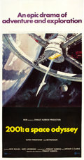 "Movie Posters:Science Fiction, 2001: A Space Odyssey (MGM, 1968). Three Sheet (41"" X 81"").. ..."