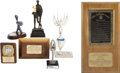 "Movie/TV Memorabilia:Awards, Glenn Ford ""Man of the Year"" Award and Assorted Trophies....(Total: 7 )"