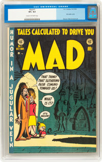 Mad #1 (EC, 1952) CGC VF+ 8.5 Cream to off-white pages