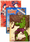 Magazines:Superhero, Foom Group (Marvel, 1973-78) Condition: Average VF.... (Total: 10Comic Books)