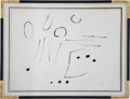 Movie/TV Memorabilia:Original Art, Joan Miró Original Signed Artist's Proof....