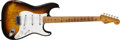 Musical Instruments:Electric Guitars, 1955 Fender Stratocaster Sunburst Guitar, #9577.... (Total: 2 )