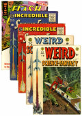 Golden Age (1938-1955):Science Fiction, Weird Science-Fantasy Group (EC, 1950s-66) Condition: AverageVG.... (Total: 5 Comic Books)